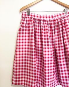 love this gingham Cleo!