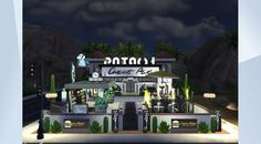Check out this lot in The Sims 4 Gallery! - #bar#modern#beautiful#moviehangoutstuff#cinema#stopstealing#nocc#fun#Jadys938