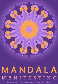 https://www.facebook.com/mandalacalendar Time is a jewel, enfolded into a plan. Bring the objective to fruit with a pattern that produces your most authentic work, on schedule.