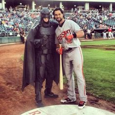 Angel Pagan and Batman