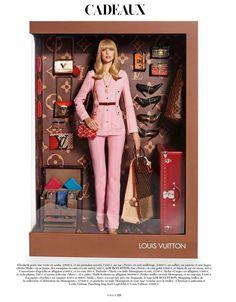 Barbie Dolls at Vogue Paris DEC 2014 http://www.justlia.com.br/2014/12/as-caixas-de-barbie-na-vogue-francesa/
