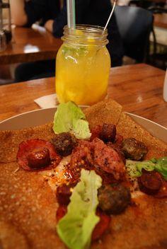 Kitchenette best combination of Nicholas galette and Orang Mango Elixir