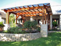 20 beautiful covered patio ideas patio trellis wood pergola and