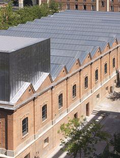 Daoz y Velarde Cultural Centre, Madrid, 2013 - Rafael de La-Hoz Arquitectos #warehouse