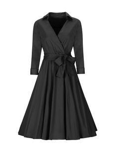 Buy V-Neck Bowknot Plain Skater Dresses online with cheap prices and discover fashion Skater Dresses at Fashionmia.com.