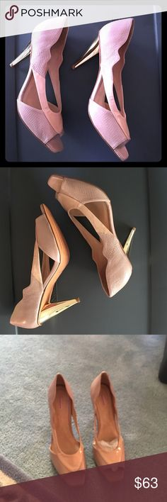 Samanta Heels Size 12M Genuine Leather Made from the best .  Brand New. 4 inches Samanta Shoes Heels