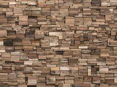 Indoor wooden 3D Wall Cladding DAYS by Wonderwall Studios