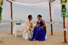 The newlyweds....