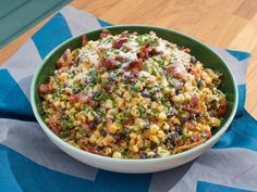 Grilled Mexican Street Corn Salad Recipe | Jeff Mauro | Food Network