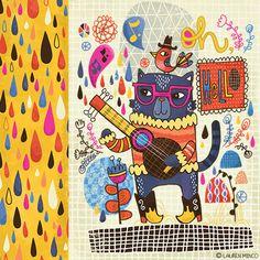 Lauren Minco/happy happy art collective alphabet
