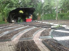 Camas de cosecha listas para siembra en Huerto Roma Verde