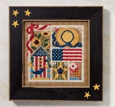 "H146104 - Summer Sampler (2006) - Mill Hill - Buttons and Bead Kits - Spring Series Kit Includes: Beads,ceramic button, perforated paper, floss, needles, chart and instructions. Mill Hill frame GBFRFA6 sold separately Size: 5"" x 5"""