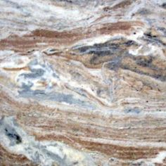 Marble- Fantasy Brown - Light brown veins on a cream background with shades of green and tan