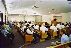 Beachy Amish church service
