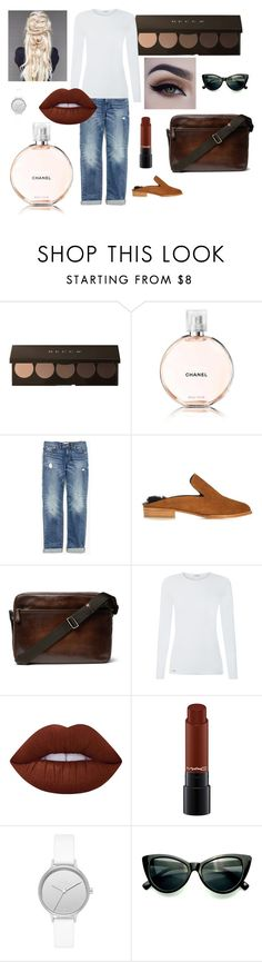 """""""March 9th"""" by nicky-jane-neary on Polyvore featuring Chanel, Madewell, Robert Clergerie, Berluti, Lime Crime and Skagen"""
