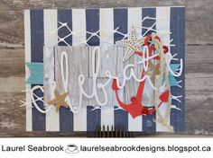 Hi stampers! We hope you all enjoyed our last sketch! Every project was wonderful and we love seeing what you come up with! Nautical Cards, Nautical Theme, Close To My Heart, I Card, Birthday Cards, Celebrities, Cardmaking, Card Ideas, Projects