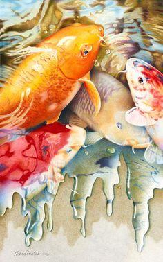 Sheila Theodoratos to show brilliantly colored pencil drawings - Edmonds, WA - EdmondsBeacon.com