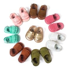 >> Click to Buy << Cool Summer 2016 Freshly-Picked Moccasins Sandals Baby Shoes Leather Tassels Babies Toddler Shoes Rubber-Soled Kid's Shoes 209A #Affiliate