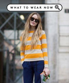 5 Showpiece Stripes That MAKE An Outfit #refinery29