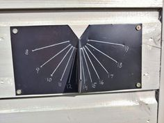 For this project I used some scrap steel roofing sheet. Steel Roofing Sheets, Plastic Film, Sundial, Scrap, About Me Blog, Clock, Prints, Watch