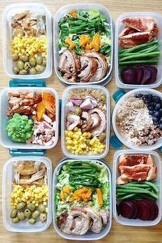 Get on the meal-prep bandwagon. | 7 Easy Ways To Eat A Little Healthier This Week