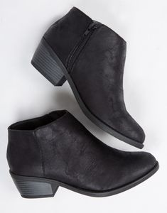 Old Navy Sueded Ankle Boot ($43) ❤ liked on Polyvore featuring ...