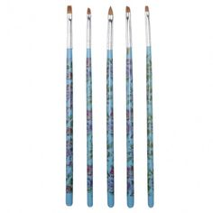 5pcs Acrylic UV Gel Nail Art Design Tips Dotting Painting Polish DIY Brush Pen Tool set
