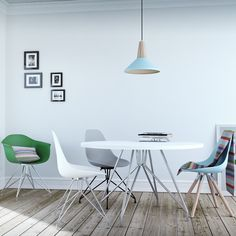 Looking for mismatched dining chairs? Our new Moda Collection comes in over 16 Pantone inspired colours and 3 leg styles.  Free next day delivery if you order before 1pm.