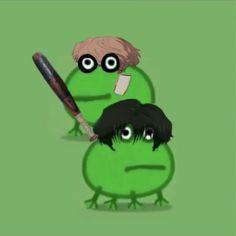 Peppa Pig, Stupid Memes, Funny Memes, Sapo Meme, Killing Stalking Manga, Amazing Frog, Frog Meme, Gato Anime, Frog Pictures