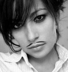 Female mustache. Featuring Chilean-French singer: Ana Tijoux