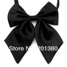 solid bow tie knots women's butterflies butterfly bowtie corbatas gravata