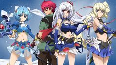 We monitor the news to keep you updated on the release date of Lord Marksman and Vanadis (Madan no Ou to Vanadis) season At the moment, the Satelight studio is yet to renew or cancel the anime. Anime Characters List, Anime Films, Fairy Tail, Figura Iron Man, Otaku Anime, Anime Art, Lord Marksman And Vanadis, Zero No Tsukaima, Anime Crying