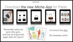 #Miche #app for IPad