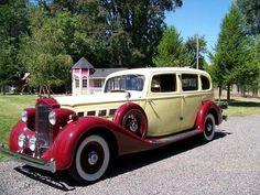 "hotrodzandpinups: ""35 Packard Super 8 """