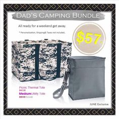 Dads camping bundle June special