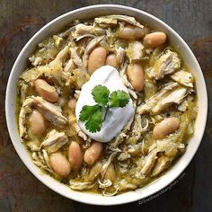 ounces salsa verde 15-ounces cannellini beans or Great Northern beans ...