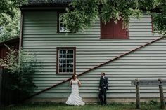 Oak + Olive caught this unique shot at the side of our General Store. Museum Wedding, General Store, This Is Us, Weddings, Unique, Outdoor Decor, Beautiful, Wedding, Marriage