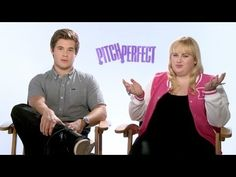 'Pitch Perfect' Adam DeVine & Rebel Wilson Interview... I could watch this all day.They are animals!!