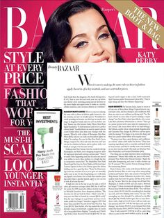 Harper's Bazaar can't get enough of Harry Josh Pro Tools! Featuring the Harry Josh Pro Tools Blow Dryer!