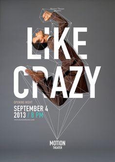 Poster / Motion Theather Identity – Fubiz™ kickass design ht: Foto Ruta.