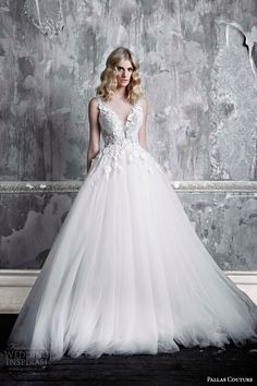 Pallas Couture wedding dress 2015