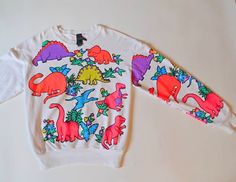 dinosaur sweater. i want it!