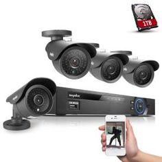 Sistema di sorveglianza a 8 canali