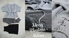 #DANI #Lurex #FelpaCropTop #Grey Luxury fifth outfit by DANI