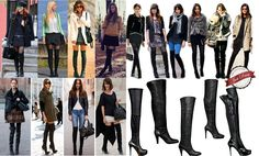 As botas cuissardes são tendências para o inverno 2014, veja a matéria que preparamos, para você arrasar no inverno.  www.justdressfashion.com