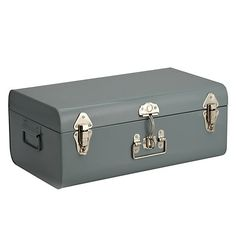 Croft Collection Trunk, Large, Slate