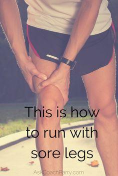 Is sore legs part of the deal? Sore Legs, Road Running, Running Motivation, Marathon, Run Motivation, Leg Pain, Marathons, Foot Pain