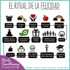 #BodySanctuary #Motivacion #Frases #Salud Ritual de la felicidad…  ¿Ya conoces nuestros servicios? Body Sanctuary - Santa Fé - WTC - Satélite Tels. (55) 2591 0403 (55) 9000 1570 (55) 1663 0375 E-mail: info@bodysanctuary.com.mx Web: http://www.bodysanctuary.com.mx/