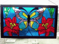 Butterfly - Delphi Stained Glass