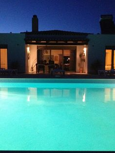 Modern Villa With Private Pool In Rural Setting - . Villa With Private Pool, Villas, Swimming Pools, Mansions, Park, House Styles, Beach, Outdoor Decor, Modern